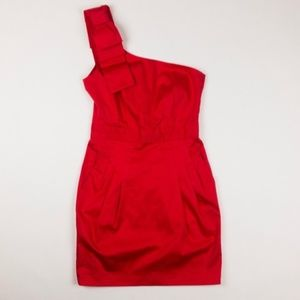French Connection Red Cocktail Dress size 2